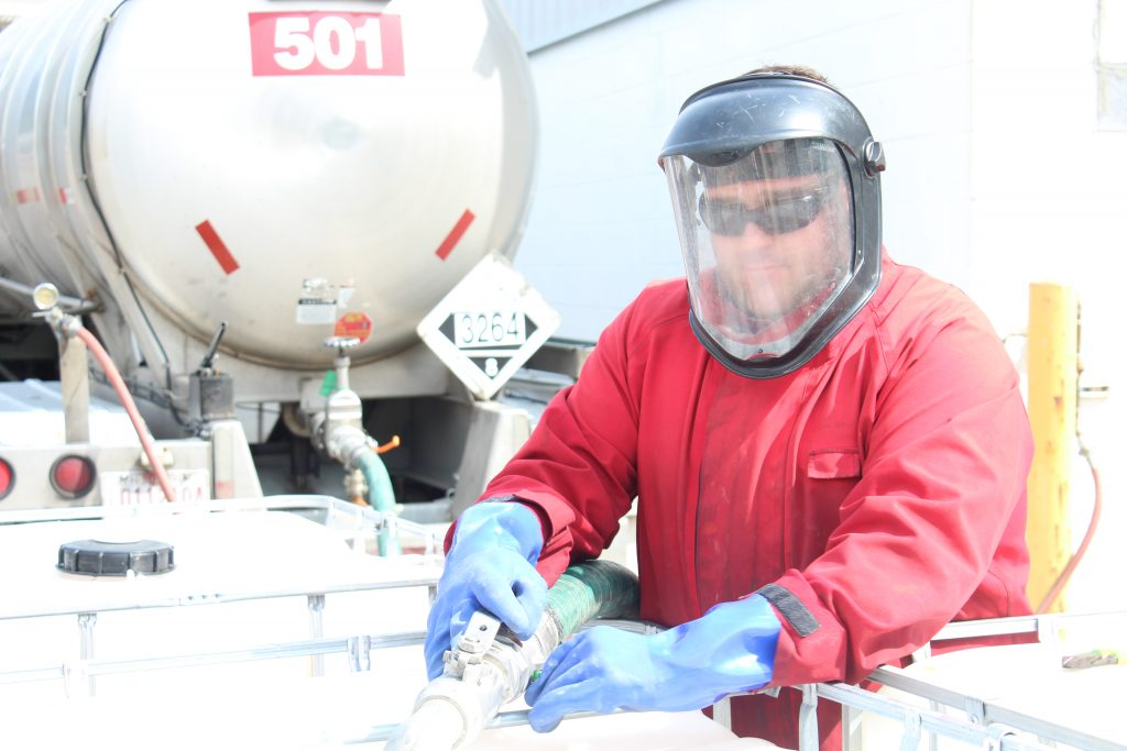 Personal Protective Equipment for Chemical Handling