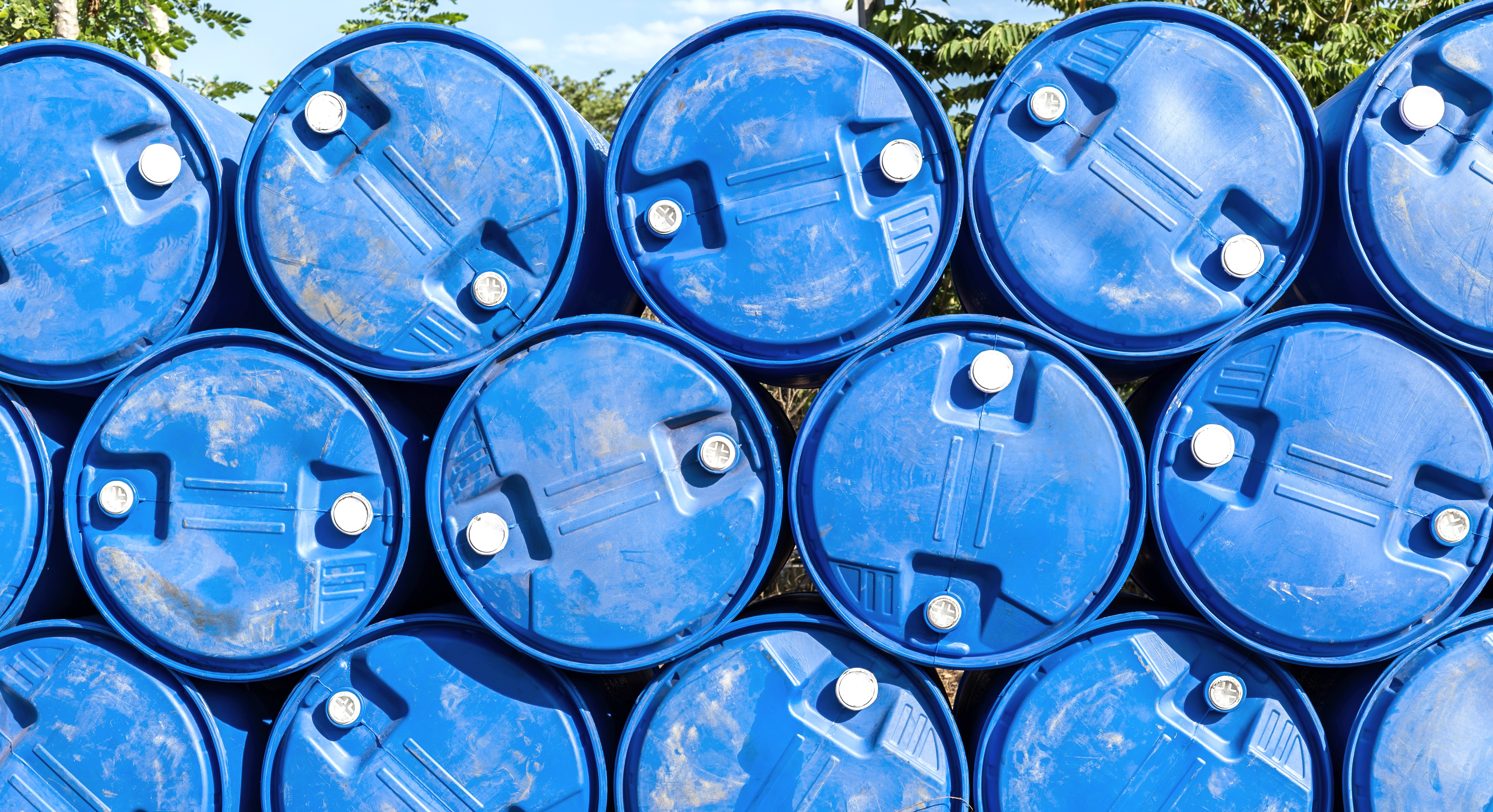 Empty Chemical Drums
